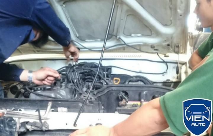 Sửa khung gầm ô tô Dodge